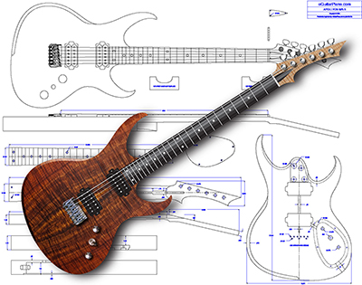 [SCHEMATICS_4CA]  eGuitar Plans | Free Download Guitar Wiring Schematics Acoustic E |  | www.eguitarplans.com
