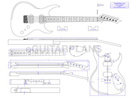 print your guitar plan custom plans contact guitar building ...