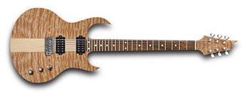 Quilted Maple electric guitar